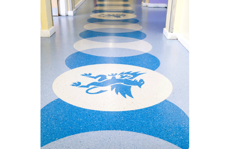 F.Ball Products used in Southborough High School refurbishment