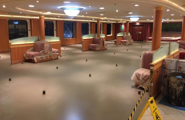 F. Ball Exhibits at Cruise Ship Interiors Expo Europe