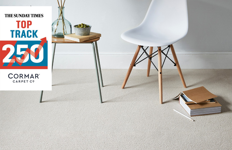 Cormar Carpets Named in The Sunday Times Top Track 250