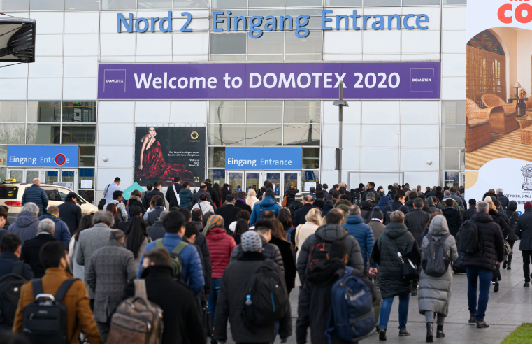 Interfloor Reassures Customers at Domotex