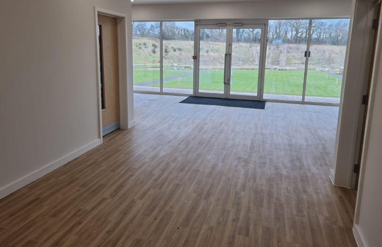 Designer Contracts provides floorcoverings for the new Keymer Community Centre