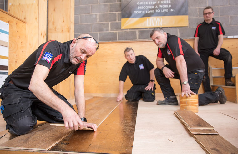 The Academy for Excellence in Flooring welcomes installers from Ireland