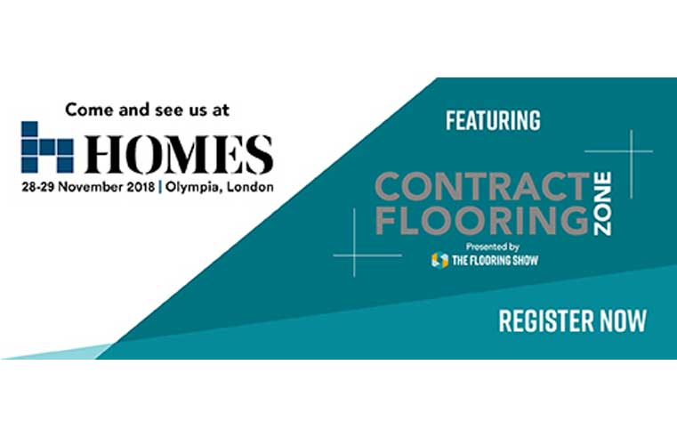 New Contract Flooring Zone at HOMES London