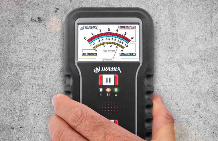 Tramex Meters Concrete Moisture Encounter CME5.