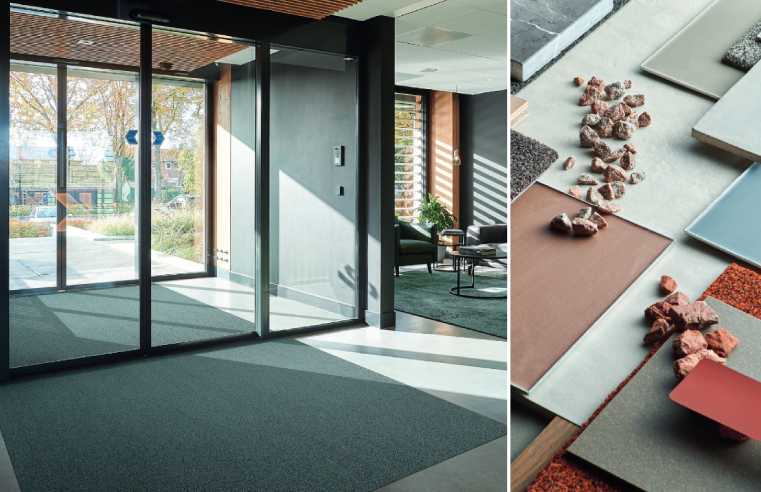 Rinos introduces Symphony2 and Stelvio commercial entrance mats