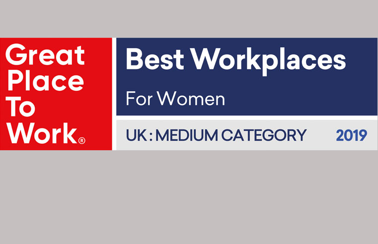 Instarmac Formally Named 'Great Place to Work' 2019 UK Best Workplaces for Women