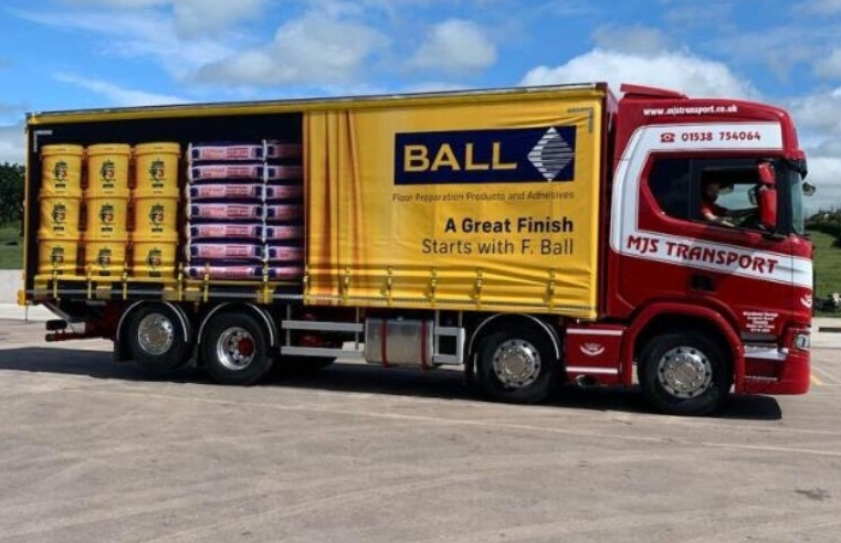 F. Ball and Co. Ltd. Refreshes Delivery Lorry Liveries