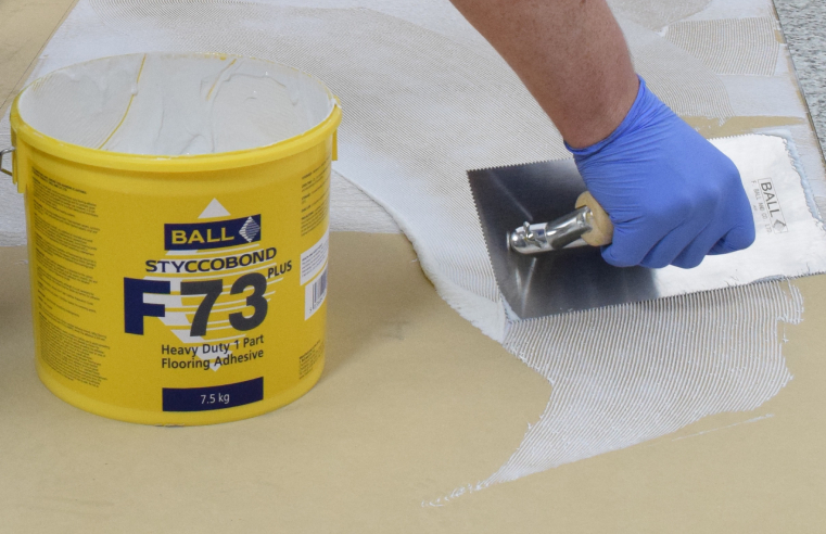 F. Ball launches solvent-free heavy-duty adhesive