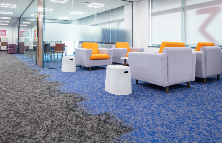 Modulyss Carpet Tiles at Milton Keynes College
