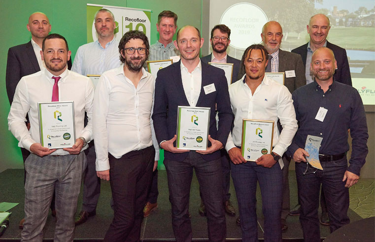 Recofloor Celebrates Recycling Award Winners