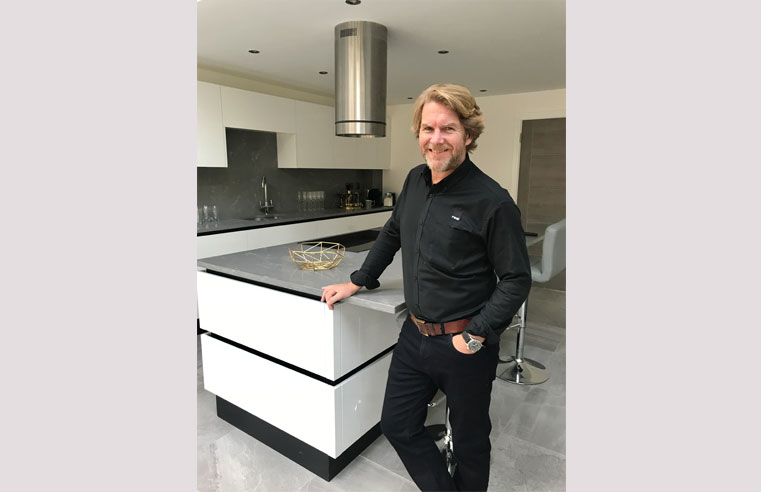 Leigh Price, co-director of Real Stone & Tile