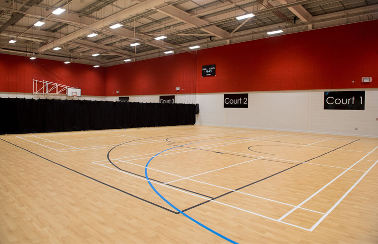 Polyflor Sport 67 Scores at New Leisure Centre