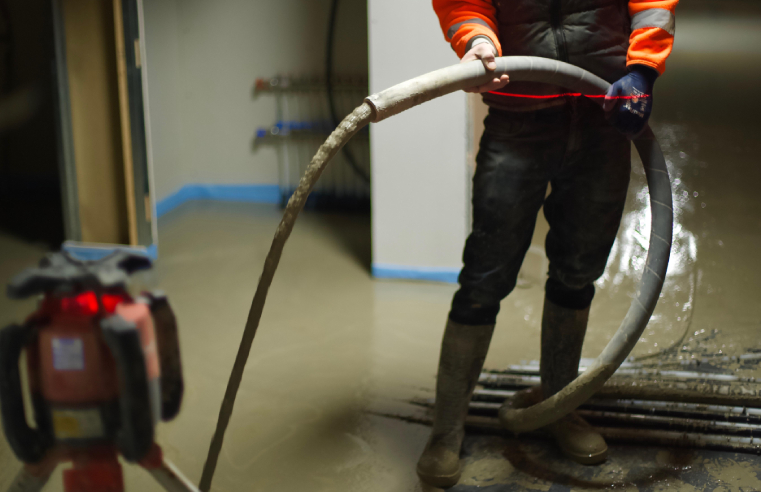 Flowcrete launches Isocrete Flowing K floor screed