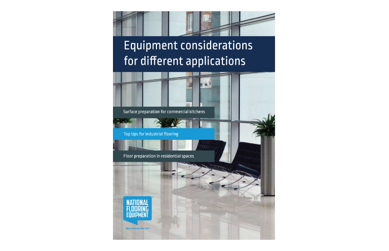 National Flooring Equipment releases surface preparation whitepaper