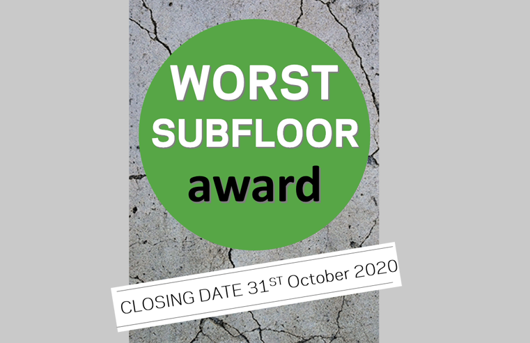 The Preparation Group Launches Worst SubFloor Awards