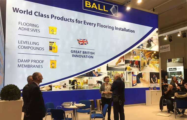 F. Ball to Showcase at Domotex 2020