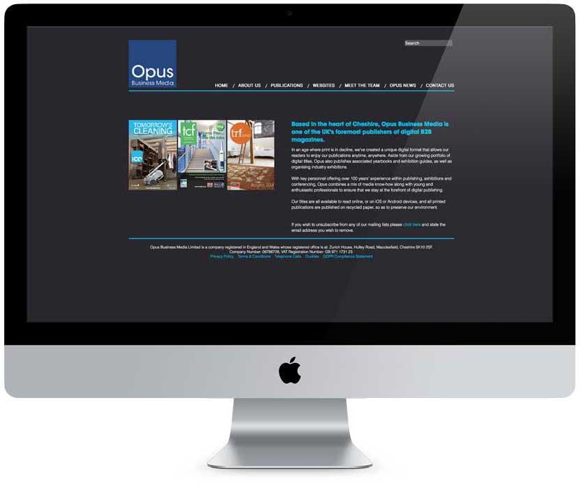 Opus Web site